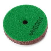 5PCS Dark Green Marble Stone Polisher Sponge Diamond Polishing Pad 1000 Grit Dia 80