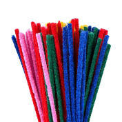 eBoot 100 Pcs Pipe Cleaners Chenille Stem 150 x 4 mm for Arts and Crafts, Assorted Colours