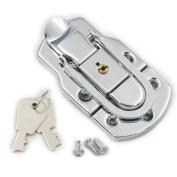 Fujiyuan 2 pcs 89mm x 49mm Latch Trunk Catch Box Toggle Case Draw bolt Bag lock Closure chest Suitcase Cabinet