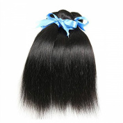 100% Grade 7A Brazilian Virgin Hair Natural Straight Human Hair Weave Extension Unprocessed