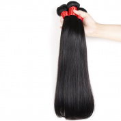 Angela Star Brazilian Straight Hair 4 bundles 100% Unprocessed Virgin Human Hair Weave Weft Natural Colour No Tangle No Shedding Grade 6a Natural Colour