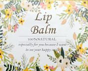 ZZYBIA Lip Balm Stickers for Lip Balm Container Lip Balm Labels Paper Stickers 50pcs