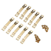 eBoot 100 Pack Sawtooth Picture Frame Hanging Hangers Double Hole with Screws