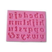 Lower Case Letters Alphabet Shaped 3d Silicone Cake Fondant Mould Cake Topper Decoration Moulds