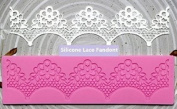 Silicone Lace Fondant Cake Decoration Mould Embossing Flower Decorating Mould