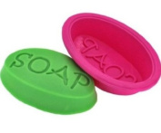 Mould SOAP Oval Silicone Oven Handmade Soap Moulds Candy Making Moulds DIY Chocolate Mould