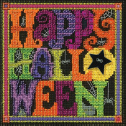Happy Halloween Beaded Counted Cross Stitch Kit Mill Hill MH141622 Buttons & Beads 2016 Autumn