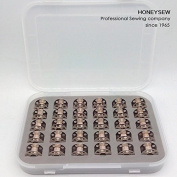 HONEYSEW 30PCS BOBBINS (10,20,50100ct) Metal # 0115367000 Alt# 0015367200 Bernina