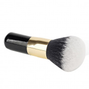 XILALU Big Size Powder Brush Cosmetic Beauty Blush Brush for Makeup Soft Facial Finishing Powder Makeup Brushes Wood Black Handle