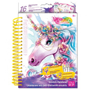 Splash Of Colour Sketch-To-Go-Unicorn Rainbow