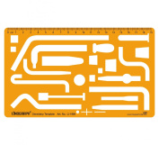 Chemistry Chemical Engineering Science Drafting And Design Template Stencil Symbols Technical Drawing Scale