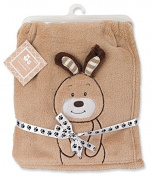 Regent Baby Crib Mates Bunny Blanket, Tan