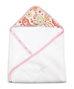 My Blankee Newborn Baby Girl Hooded, Summer Paisley