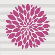 Glenna Jean Millie Flower Wall Decal, Pink