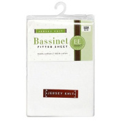Bassinet Sheet Jersey Knit Bambino Basics