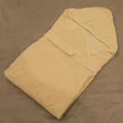 Smotor Baby Wrap/Swaddle/Blanket 0-6 months Naturally Coloured Cotton 0-6 Months 90cm x 90cm