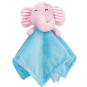 Wingkids Originals Baby Doudou Blanket Pink Elephant