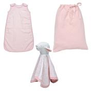 Under the Nile 3 pc Bedtime Bundle Gift Set-Blush