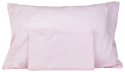 3 Toddler Pillowcases - 2 Pink & 1 White - Made for ZadisonJaxx 13x18 Toddler Pillow But Will Fit Any Toddler or Travel Pillow That Is Under 14x22 - 100% Cotton - Hypoallergenic - Machine Washable