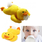 Cute Bottle Pets Baby Bottle Cover Soft Cartoon Feeding Milk Bottle Plush Pouch Covers Keep Warm Holders 500ml