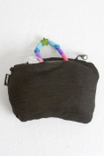 Pocketed Infinity Nursing Scarf- Clutch Wrap Purse - by SHOLDIT - HAZE GREY