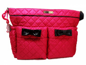 Betsey Johnson Quilted Nappy Bag