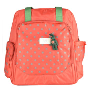 Zenith Lovely Baby Nappy Bag for Mom Double Shoulder Bag Cute Bag green colour