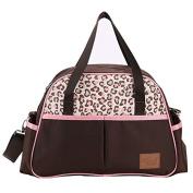Yoovi Baby Nappy Tote Bags Shoulder Bag Mummy Bag Leopard Print