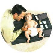 MAXU Babies Travel Changing Pad - Portable Nappy Clutch Bag, Nappy Mat Changing Station for Baby