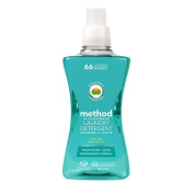 method Laundry Detergent 4x Concentrated, Beach Sage, 66 load 1580ml