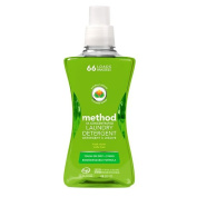 method Laundry Detergent 4x Concentrated, Fresh Clover, 66 load 1580ml