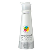 method Laundry Detergent, 50 Loads, Free + Clear 20 fl oz
