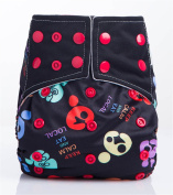 Daisy Ananbaby Baby Reuseable Washable Adjustable Pocket Cloth Nappy with One 3-Layers Microfiber Insert #AO-S5