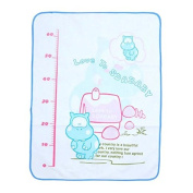 New Cartoon Infant Cover Burp Changing Pad Height measurement scale
