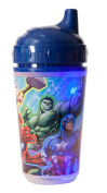 Marvel Avengers Double Wall Led Light Up Sip Cup, Blue