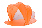 Snoozy Easy Pop Up Shade Tent With Slip on Cover and Handles, Orange
