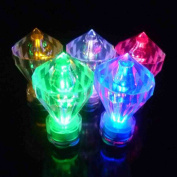 JYtrend SUPER Bright Diamond LED Floral Tea Light Submersible Lights For Party Wedding