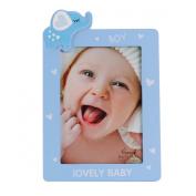 UNIQUEBELLA Wooden Photo Frame photo Lovely Baby Birthday Gift Present, Photo size