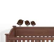 10 Baby Birds Wall Decals Art Stickers Nursery Kids Room Decor
