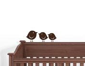 10 Baby Birds Wall Decals Art Stickers Nursery Kids Room Decor
