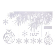 Christmas Sticker Wall Window Decoration Wishing Trees Snowflake Holiday Wall Stickers New
