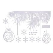 Christmas Sticker Wall Window Decoration Wishing Trees Snowflake Holiday Wall Stickers New