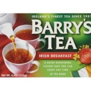 Barry's Tea, Irish Breakfast, 40 Tea Bags (Pack of 6) Thank you to all the patrons We hope that he has gained the trust from you again the next time the service