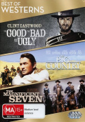 the Good the Bad and the Ugly, The Big Country, The Magnificent Seven [Region 4]