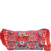Caribbean Joe Accessories Seaside Damask Crossbody