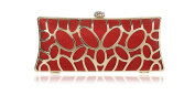 GINSIO Women's Polyester Fibre New Fashion Wristlet-handbags Clutch-handbags Evening-handbags