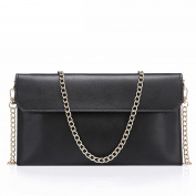 Bopstyle 2016 New Fashin Genuine Leather Evening Envelope Clutches Handbags Shoulder Bag for Women