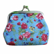 Wallet,toraway Lady Vintage Flower Small Hasp Coin Purse Wallet Clutch Bag