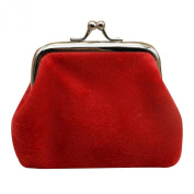 GBSELL New Womens Corduroy Small Wallet Holder Coin Purse Clutch Handbag Bag