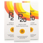 Riemann P20 Once A Day Sun Filter SPF20 3 Pack